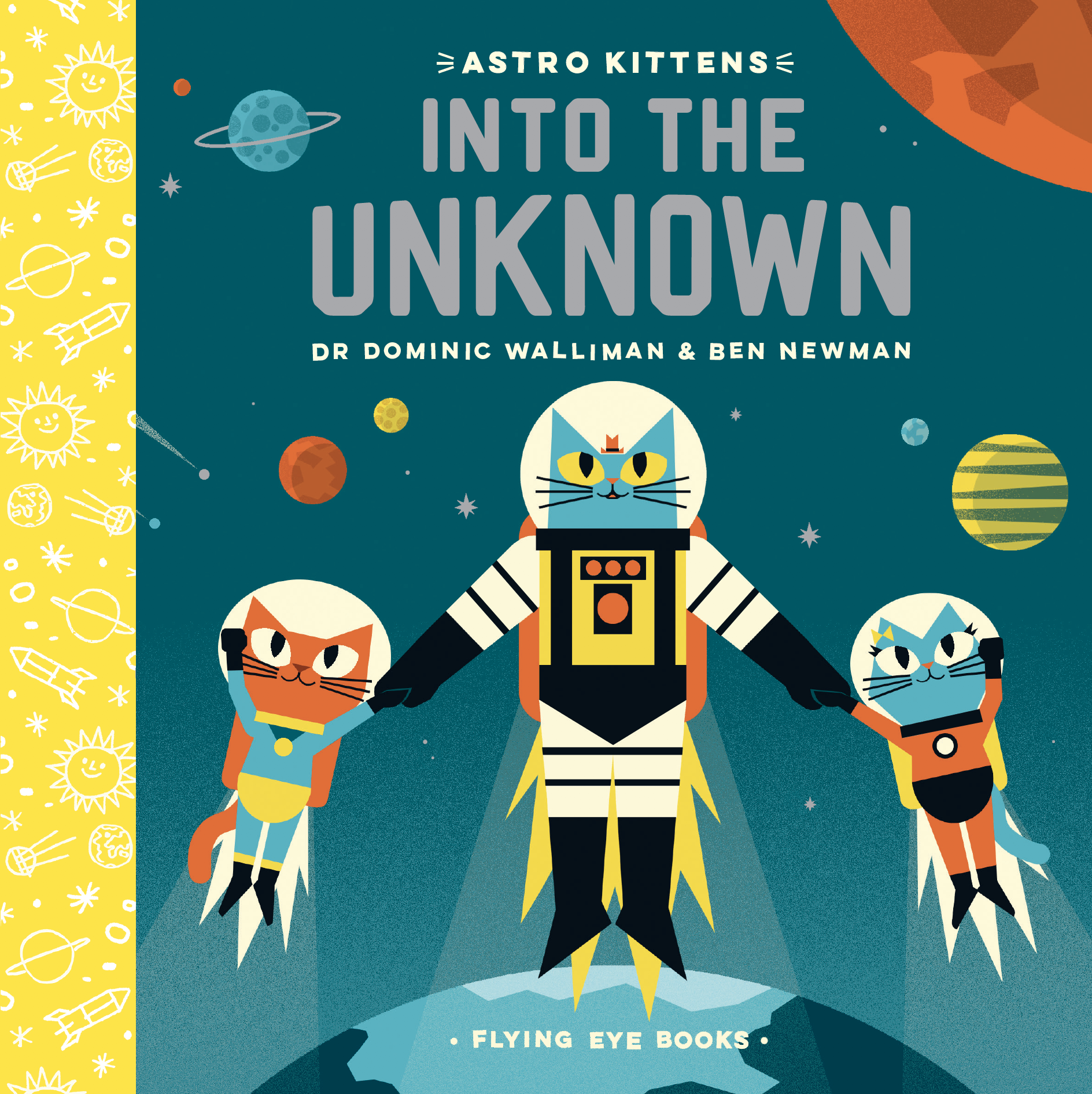 ASTRO KITTEN'S INTO THE UNKNOWN